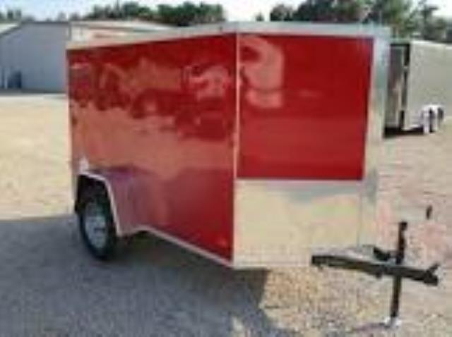 Where to find TRAILER, ENCLOSED 5 X 8 , BARN DOORS in St. Paul