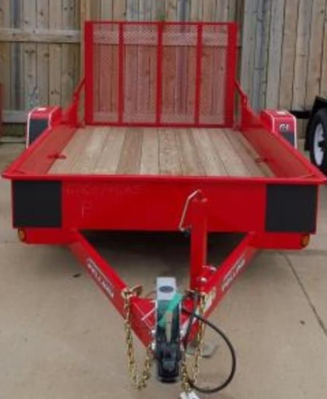 Where to find TRAILER, 6 X12  UTILITY W RAMP, 6000 LB in St. Paul