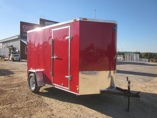 Where to find TRAILER, ENCLOSED 6 X 10 , RAMP, ALUM in St. Paul