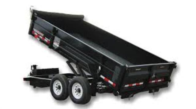 Where to find TRAILER, DUMP 9,000 LB, 7 X 14  LG  D6 in St. Paul