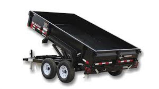 Where to find TRAILER, DUMP 6,000 LB, 7 X 10  MED WHIT in St. Paul