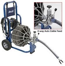 Sewer Cleaner Main Drain 100 Foot Cable Rentals St Paul